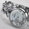 Women's Akribos XXIV Quartz Diamond Mother Of Pearl Dial Watch