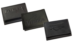 NFL Genuine Leather Trifold Wallet