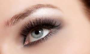 Candy Spa: Full Set of Basic or Glam Eyelash Extensions at Candy Spa (Up to 80% Off)