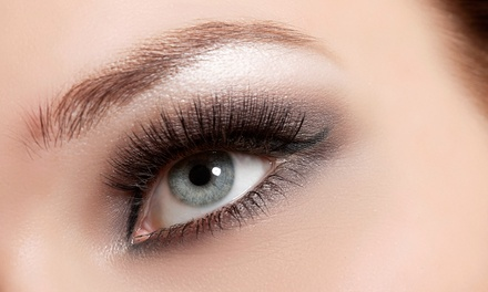 Full Set of Basic or Glam Eyelash Extensions at Candy Spa and Eye Beauty Spa(Up to 73% Off)