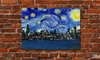 Starry Night Skyline Prints on Canvas: Starry Night Skyline Prints on Canvas. Free Shipping and Returns.