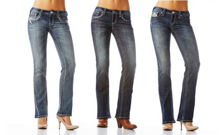 Grace in LA Easy Fit Denim. Multiple Styles Available.