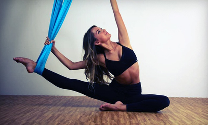 Coolhotyoga - Calabasas: 5 or 10 Aerial Yoga, Barre Boot Camp, Piloxing, Pilates, or Yoga Classes at Coolhotyoga (Up to 70% Off)
