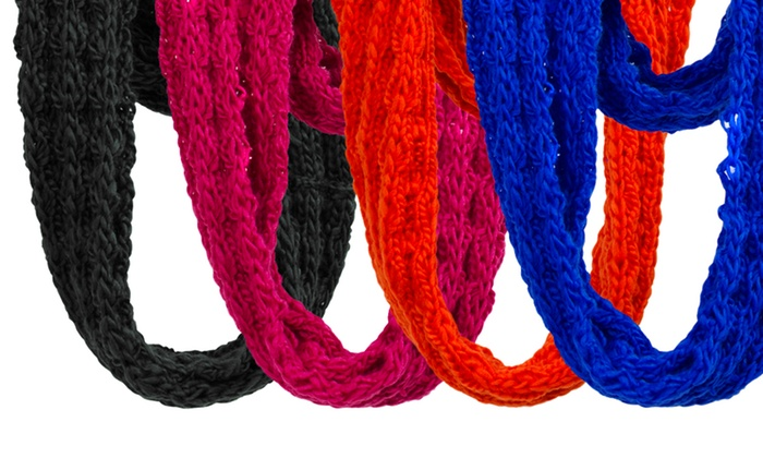 Magid Cold-Weather Infinity Scarf: Magid Cold-Weather Infinity Scarf in Black, Brown, Fuchsia, Orange, Royal, or Teal. Free Returns.