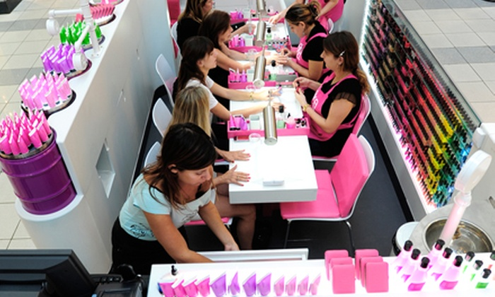 Laka Manicure Express - Denver West: One or Two Manicures with Optional Tea-Tree Hand Peels and Massages at Laka Manicure Express (Up to Half Off)