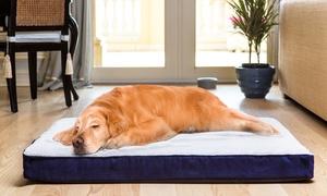 Paws 'N' Play Fleece Orthopedic Pet Beds: Paws 'N' Play Fleece and Sherpa Wool Orthopedic Pet Beds