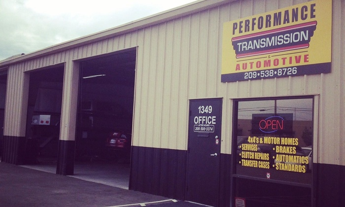 Performance Transmission & Automotive - Ceres: $50 for $100 Groupon — Performance Transmissions & Automotive
