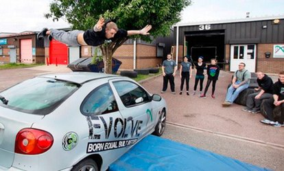 image for Parkour or O.C.T: One or Five Sessions For One or Two from £3 at Evolve (Up to 53% Off)