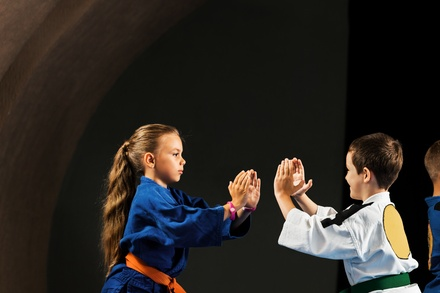 Up to 56% Off Kids Self Defense Lessons at Order of the Dragon