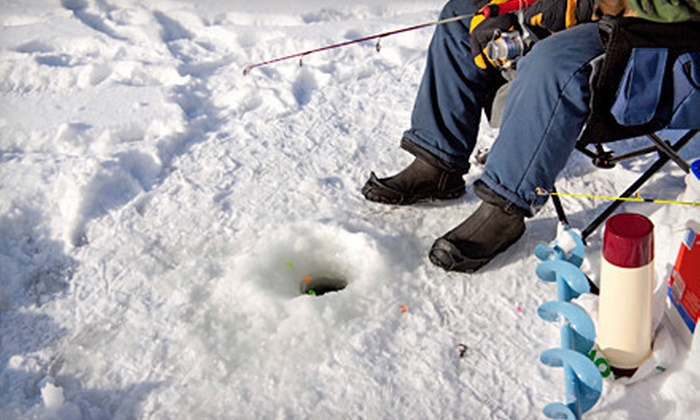 Ice Fishing Alberta - Calgary: Two-Hour Ice- or Fly-Fishing Lesson from Ice Fishing Alberta (Half Off)