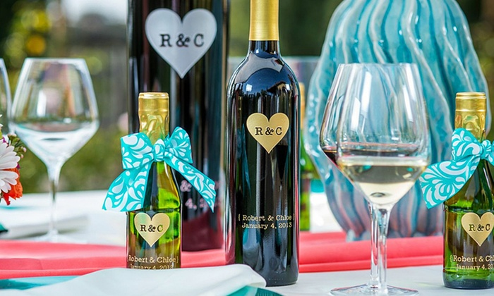 Miramonte Winery: One or Two Custom-Engraved Bottles of Wine from Miramonte Winery (Up to 52% Off)