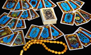 Hollywood Psychic Gallery: Tarot Card Reading and Optional Palm Reading or Full Psychic Reading at Hollywood Psychic Gallery (Up to 64% Off)