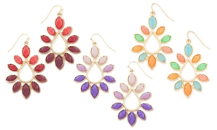 Marquise Drop Earrings: Marquise Drop Earrings
