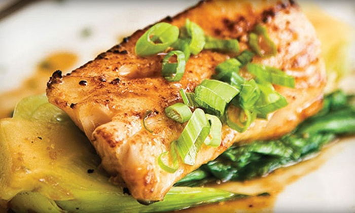 Boathouse at Hendry's Beach - West Mesa: Seafood and Continental Cuisine at Boathouse at Hendry's Beach (40% Off). Two Options Available.