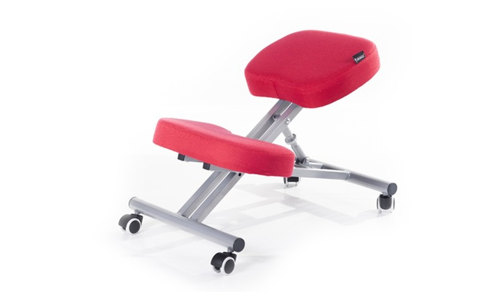 Sgabello ergonomico per ufficio groupon goods