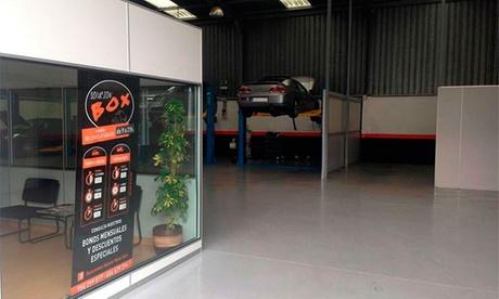 Alquiler de box mecánico para coche o moto durante 2 o 4 horas desde 12,90 € Oferta en Groupon