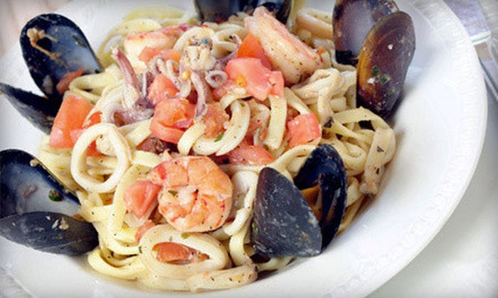 La Patagonia Argentina - Flagami: Steaks, Seafood, and Pasta at La Patagonia Argentina (Half Off). Two Options Available.