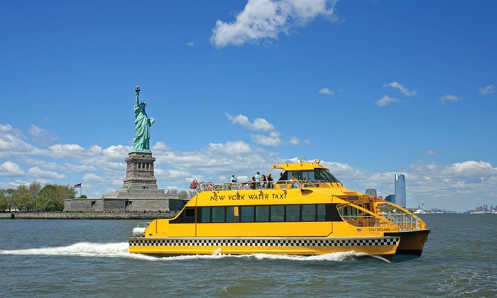 New York Water Taxi - South Street Seaport: $16 for One Boat Tour from New York Water Taxi (Up to $30 Value )