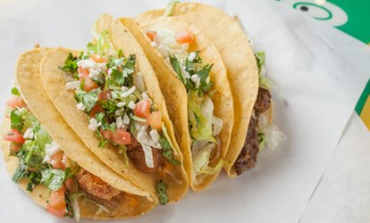 image for <strong>Mexican</strong> Cuisine at Fuzzy's Taco Shop — Antioch  (30% Off)