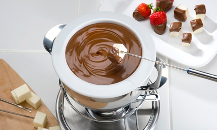 Dipped Chocolate Cafe - Greenbrier West: Two-Hour Private Chocolate-Fondue Party for Up to 10 at Dipped Chocolate Cafe (Up to 51% Off). Two Options Available.