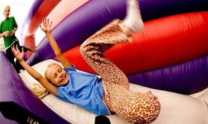 BounceU : $23 for Four Open Bounce Passes at BounceU ($39.80 Value)