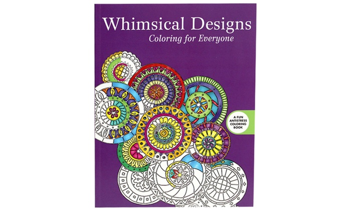 Book Whimsical Designs Coloring For Everyone