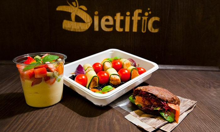 Catering Dietetyczny Dietific Catering Dietetyczny Groupon