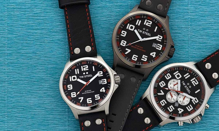 TW Steel: TW Steel Men's Watches (Up to 43% Off). Assorted Styles. Free Shipping and Returns.
