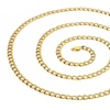 14K Solid Gold Cuban Pave Chain Necklace