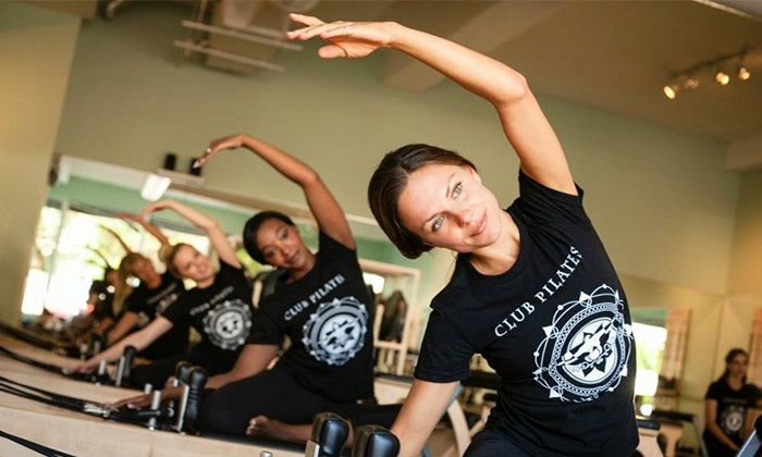 Club Pilates - Multiple Locations: $79 for Eight Pilates Classes at Club Pilates San Diego ($139 Value)