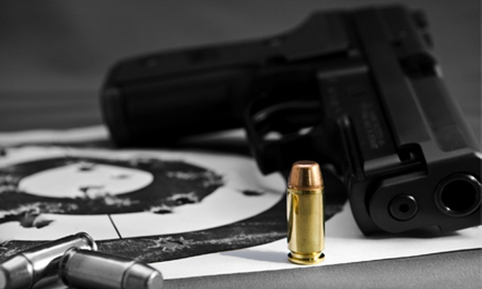 Home Defense Site - Bayonne: $59 for Six-Gun Shooting-Range Experience with Gear at Home Defense Site in Bayonne ($125 Value)