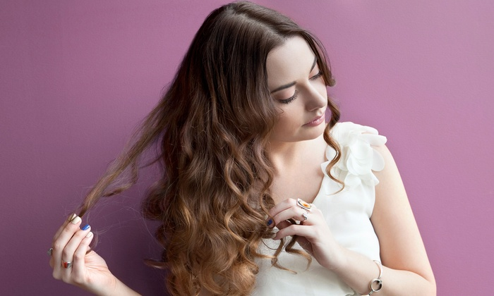 Haven Hair Design - Signal Hill: Haircut and Conditioning Treatment with Optional Partial or Full Highlights at Haven Hair Design (Up to 61% Off)