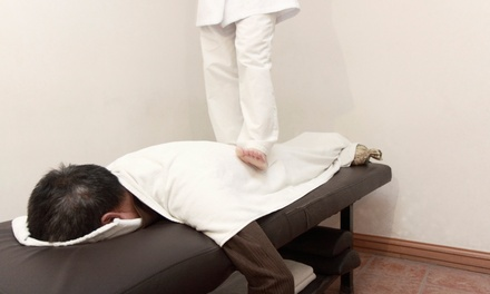 60- or 90-Minute Ashiatsu Massage at           Comfrey Massage And Bodywork (51% Off)