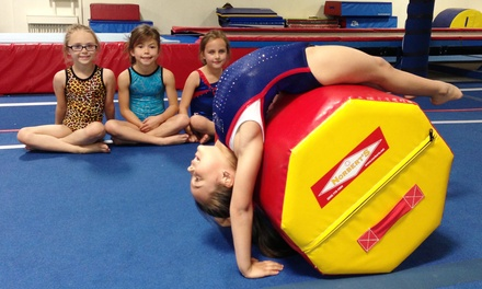 One or Two Months of Kids' Gymnastics for One or Two Kids at United Gymnastics (50% Off)