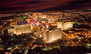 702 Helicopters: Red Rock Tour for 3 with Options for Strip Tour or Comedy Magic Show from 702 Helicopters (Up to 78% Off)
