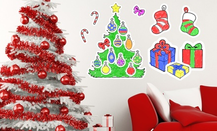 Removable Christmas Wall Decals. Multiple Options Available. Free Returns.