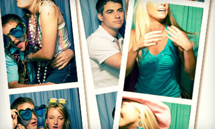 Chicago Casino Suppliers - West Town: $399 for a Three-Hour Photo-Booth Rental with Unlimited Prints and Props from Chicago Casino Suppliers ($995 Value)
