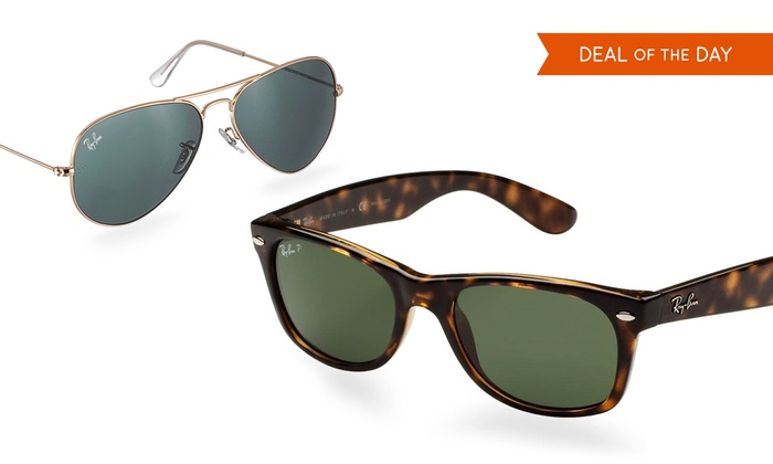 Ray-Ban Sunglasses for Men and Women: Ray-Ban Aviator and New Wayfarer