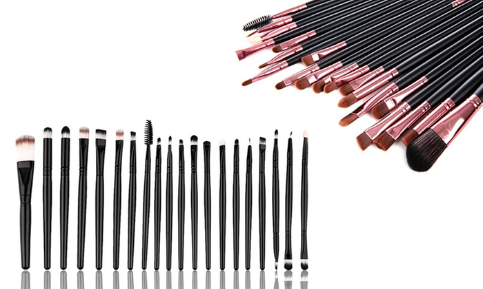 582d555771 20-Piece Makeup Brush Sets | Groupon Goods