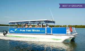 Pure Ft. Myers: $21 for a River Excursion or Sunset Cruise for One from Pure Ft. Myers (Up to $35 Value)