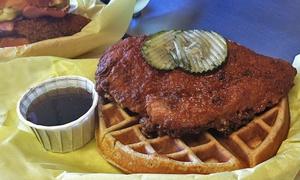 Cackalacks Hot Chicken Shack: $10 for $18 Worth of Food and Drink at Cackalacks Hot Chicken Shack