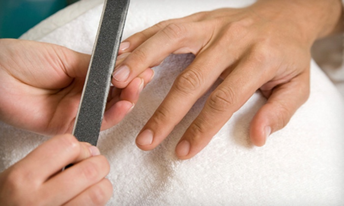 Amazing Face - Sunnyvale: $64 for a Men's Spa Package with a 60-Minute Facial, Sport Manicure, and Spa Pedicure at Amazing Face ($151 Value)