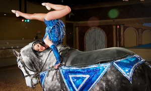 The Dancing Horses Theatre: The Dancing Horses Theatre Show with Backstage Pass September 1 – October 31 (Up to 52% Off)