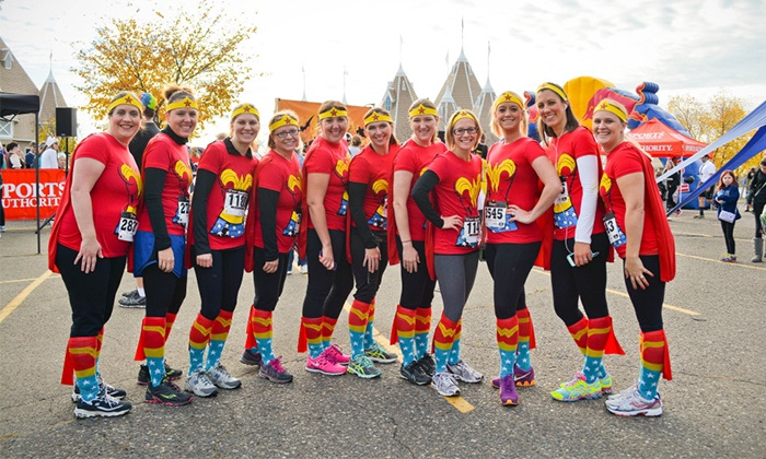 Terror Trot 5K/10K - Lake Harriet Bandshell : Entry for One or Two to the Terror Trot 5K or 10K on Saturday, Oct 31 (Up to 50% Off). Four Options Available.