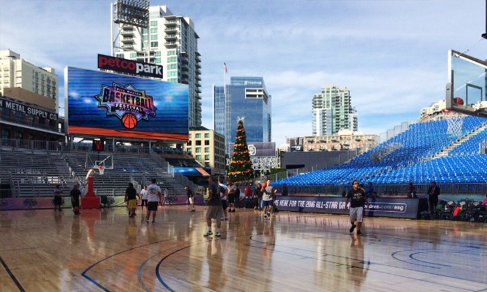 SDSU vs. USD Basketball Game - Petco Park: College Basketball Game between San Diego State University and University of San Diego at Petco Park on December 6 at 2 p.m.