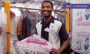 Milt & Edie's Drycleaners & Tailoring Center: Dry Cleaning and Tailoring at Milt & Edie's Drycleaners & Tailoring Center