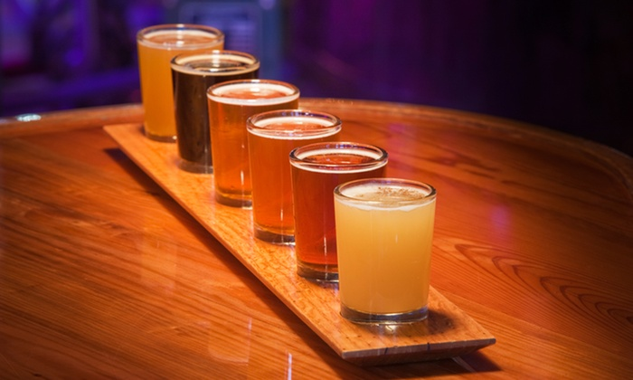 Lexington Avenue Brewery - Downtown Asheville: Beer-Tasting Package for Two or Four at Lexington Avenue Brewery (Up to 50% Off)
