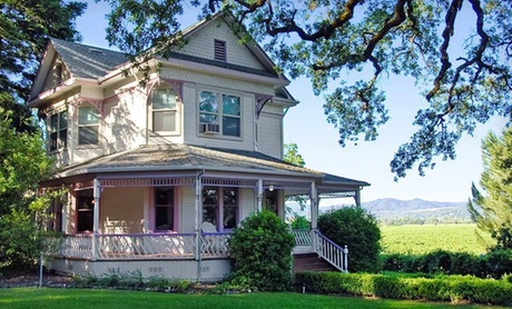 Wine Getaway at B & B amid California Vineyards