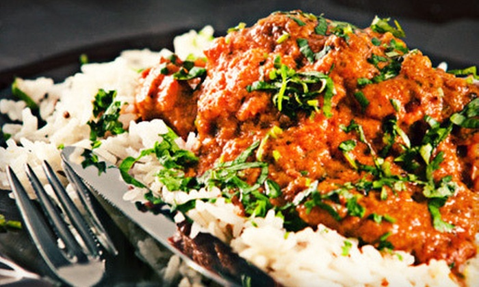 Mantra - Paramus: Indian Dinner for Two or Four with Appetizer and Naan at Mantra in Jersey City or Paramus (Up to 56% Off)