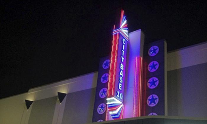 City Base Cinema 12 & CBX - City Base: $10 for Two Movie Tickets at City Base Cinema 12 & CBX ($18 Value)
